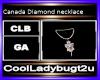 Canada Diamond necklace