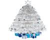 White/Blue Holiday Tree