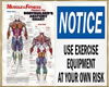 ~H~Gym Mens Muscle-Notic