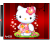 Hello Kitty w Flowers