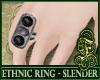 SL- Ethnic Ring Black V1