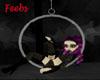 Blackwhite swing hoop