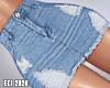 E. Blue Denim Skirt RLL