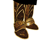 gold armour boots