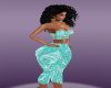rll blue capri set