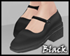 BLACK maryjanes
