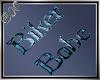 B00 * Biker Babe Sticker