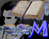 Anyskin Floating Fur Tome Book Grimoire