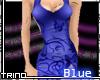 [T] SkyNight Dress Blue
