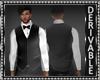 Vest/Shirt w/Bowtie Mesh