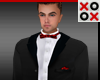 Enzo Full Suit Red Bow