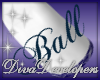 Diva Blue Ball Skirt