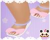 + Purple&Pink Bow sandal