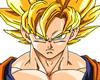 Goku cutout