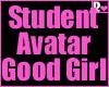 Student Avatar Good Girl