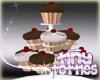 Choc/Vanilla Mix Cupcake
