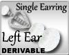 Crown Earring Left