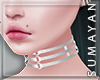Silver Cage Collar
