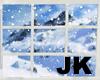 Animated snow window 2
