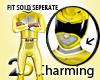 Yellow Ranger collar