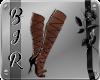 [BIR]Lace Heels *Black*1
