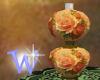 *W* Victorian Rose Lamp