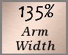 Arm Scaler 135% F