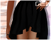 !TC! Black Hi Low Skirt