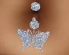 Silver Butterfly Pierc..