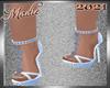 !a Denise Light Blu Heel