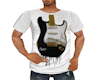 Guitar Art Tee Shirt