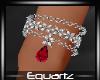 Red Diamond Bracelet (L)