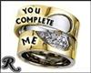 U Complete Me Rings