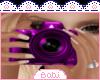 Purple Photograph Ani