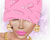 # Moschino Cap Pink
