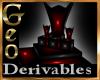 Geo Dark Master Throne