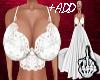 +ADD White Wedding Top