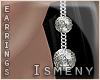 [Is] Rock Diamond Earrin