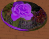 JB PURPLE ROSE RUG