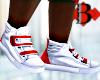 M. Red Velvet Sneakers