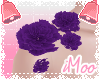 Purple Body Peonies