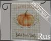 Rus Fall Garden Flag