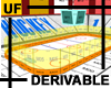 UF Derivable Hockey Rink