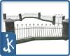 Winter Cemetery railings