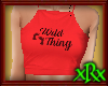 Wild Thing Top Red