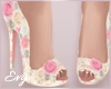 Chantel Floral Heels