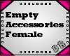 empty female accesory  2