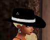 black ladies cowgirl hat