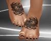 Owl Feet Gold Rings
