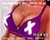 $ Bolt Purple Bra - BIG